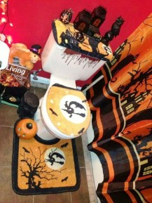 Modern Halloween Decorating Ideas For Your Bathroom33