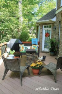 Outstanding Patio Yard Furniture Ideas For Fall To Try23