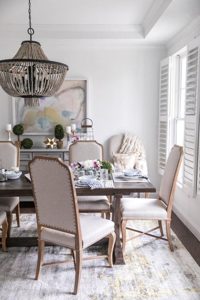 Simple But Elegant Dining Room Ideas16