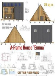 Unforgettable Designs Of A Frame Houses40