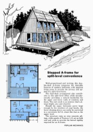 Unforgettable Designs Of A Frame Houses45