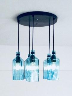 Amazing Diy Bottle Lamp Ideas23