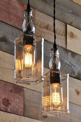 Amazing Diy Bottle Lamp Ideas25