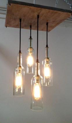 Amazing Diy Bottle Lamp Ideas26