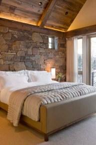 Cozy Rustic Bedroom Interior Designs For This Winter20