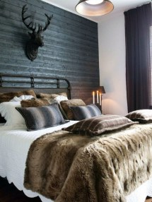 Cozy Rustic Bedroom Interior Designs For This Winter38