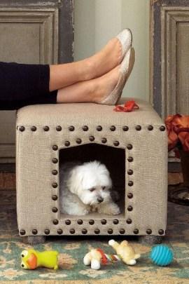Diy Pet Bed Ideas34