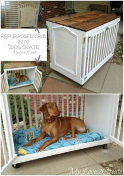 Inspirational Ways How To Repurpose Old Babys Cribs42