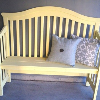 Inspirational Ways How To Repurpose Old Babys Cribs45