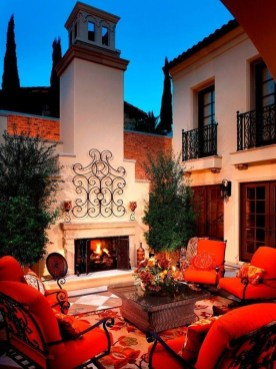 Luxury And Classy Mediterranean Patio Designs34