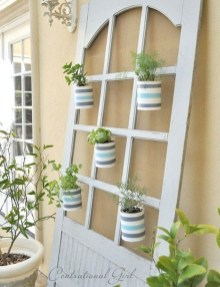 Simple And Creative Ideas Of How To Reuse Old Doors19