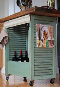 Simple And Creative Ideas Of How To Reuse Old Doors30