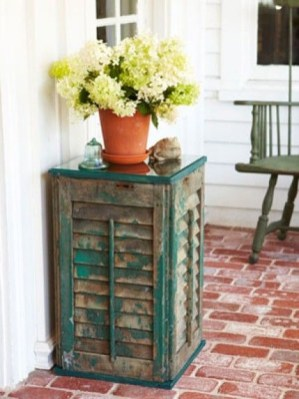 Simple And Creative Ideas Of How To Reuse Old Doors34