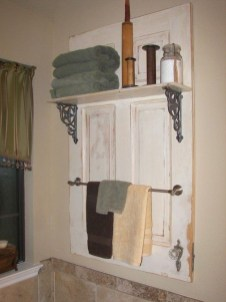 Simple And Creative Ideas Of How To Reuse Old Doors41