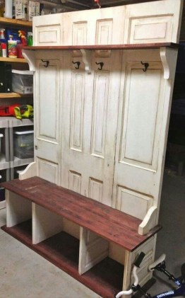 Simple And Creative Ideas Of How To Reuse Old Doors43