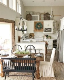 Warm Cozy Rustic Dining Room Designs For Your Cabin35