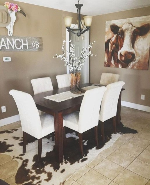 Warm Cozy Rustic Dining Room Designs For Your Cabin37