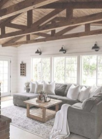 Warm Rustic Family Room Designs For The Winter12