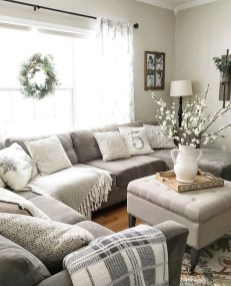 Warm Rustic Family Room Designs For The Winter13
