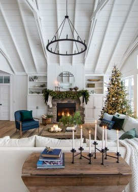 Warm Rustic Family Room Designs For The Winter42