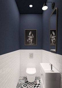 Amazing Small Apartment Bathroom Decoration You Can Try10