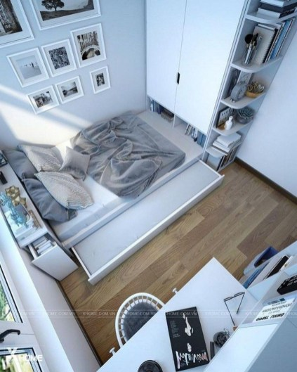 Amazing Small Apartment Bedroom Decoration Ideas29