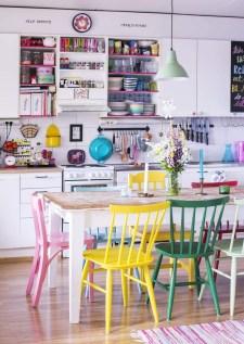 Beautifful And Cozy Colourfull Kithcen Ideas01