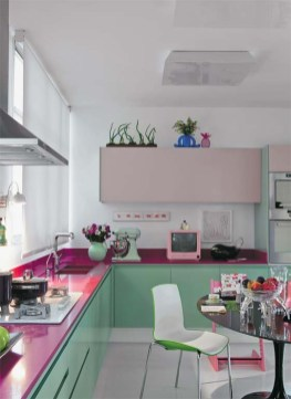 Beautifful And Cozy Colourfull Kithcen Ideas36