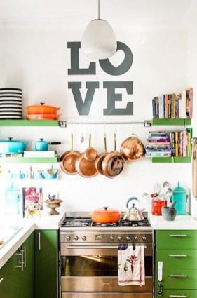 Beautifful And Cozy Colourfull Kithcen Ideas45
