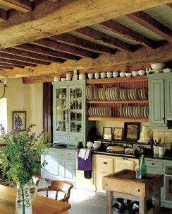 Beautiful And Cozy Green Kitchen Ideas04
