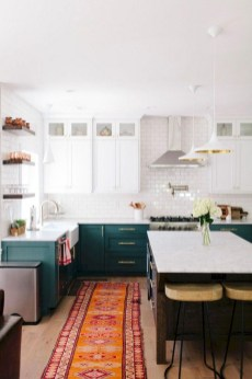 Beautiful And Cozy Green Kitchen Ideas16