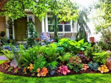Beautiful Simple Front Yard Landscaping Design Ideas34