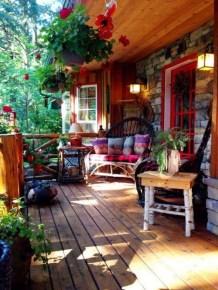 Cozy Porch Decoration Ideas29