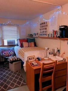 Efficient Dorm Room Organization Ideas39