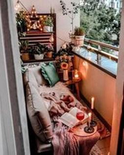 Elegant And Cozy Balcony Ideas23