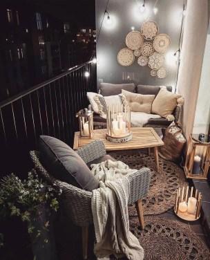 Elegant And Cozy Balcony Ideas33