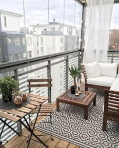 Elegant And Cozy Balcony Ideas41