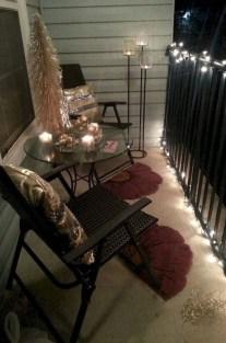 Elegant And Cozy Balcony Ideas46