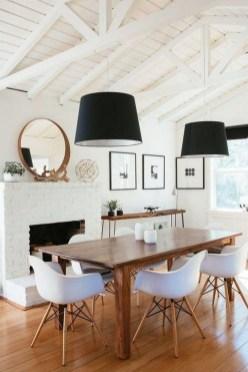 Elegant And Cozy Diningroom Design Ideas06