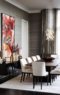 Elegant And Cozy Diningroom Design Ideas23
