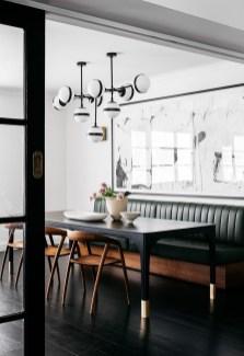Elegant And Cozy Diningroom Design Ideas28
