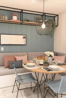 Elegant And Cozy Diningroom Design Ideas29