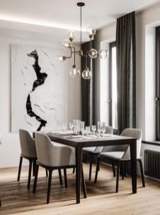 Elegant And Cozy Diningroom Design Ideas32