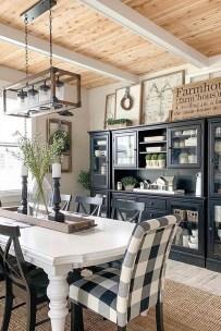 Elegant And Cozy Diningroom Design Ideas39
