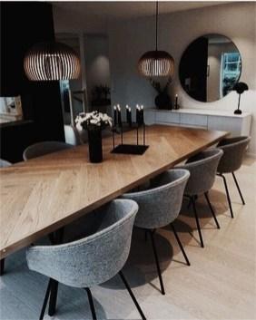 Elegant And Cozy Diningroom Design Ideas42
