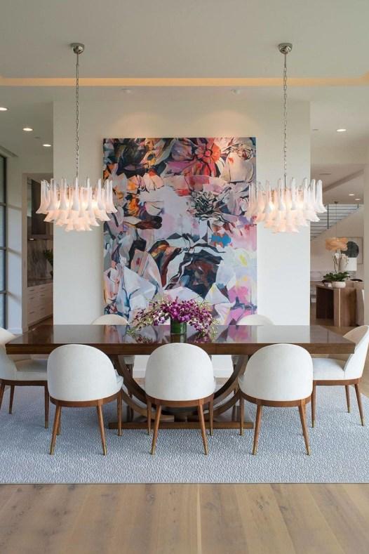 Elegant And Cozy Diningroom Design Ideas46