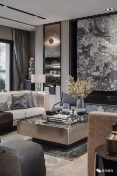 Extraordinary Luxury Living Room Ideas Which Abound With Glamour And Refinement06