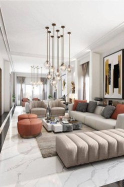 Extraordinary Luxury Living Room Ideas Which Abound With Glamour And Refinement26