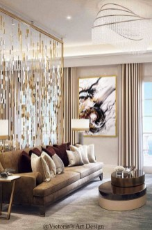 Extraordinary Luxury Living Room Ideas Which Abound With Glamour And Refinement32