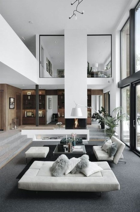 Extraordinary Luxury Living Room Ideas Which Abound With Glamour And Refinement37